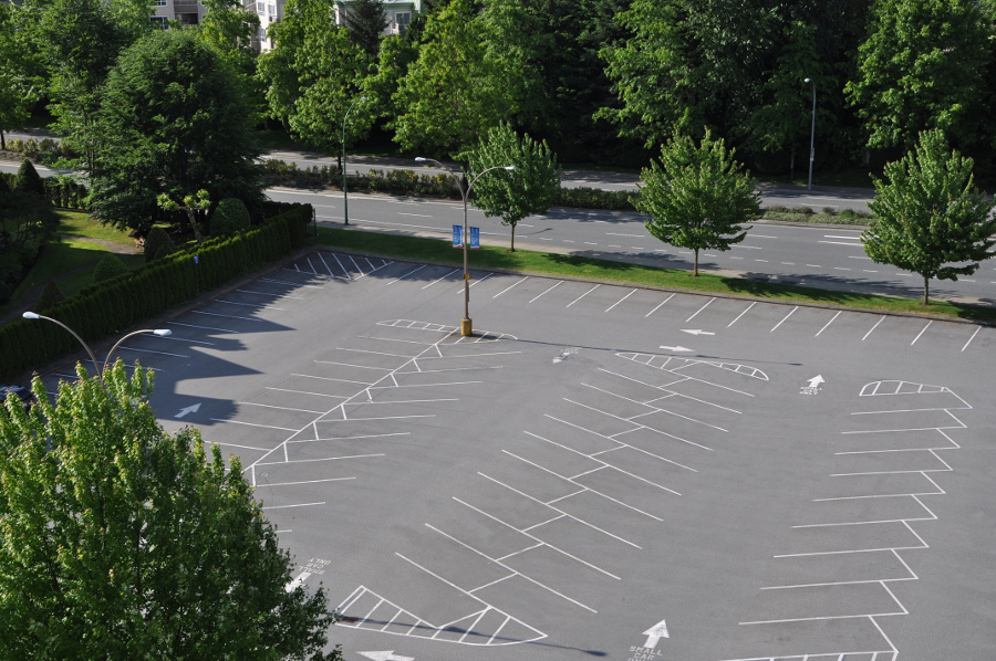 Parking Lot Sweeping Houston