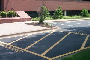 Parking Lot Striping Katy