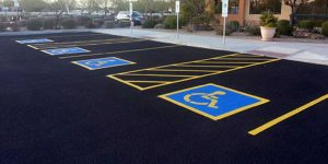 Parking Lot Striping Spring