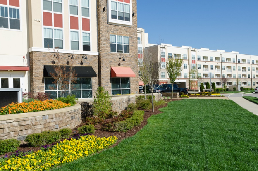 Commercial Landscaping - The Woodlands